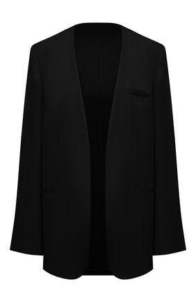 Женский жакет из вискозы TOTÊME черного цвета, арт. 212-112-709 | Фото 1