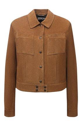 Замшевая куртка   Фото №1