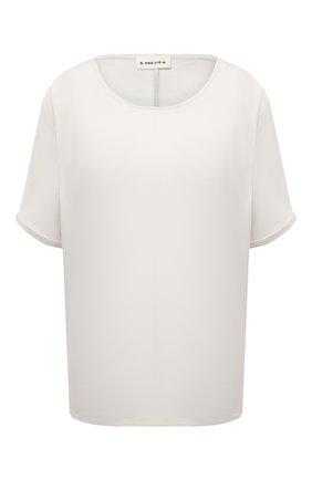 Женская футболка из вискозы 5PREVIEW светло-серого цвета, арт. 5PW21045 | Фото 1