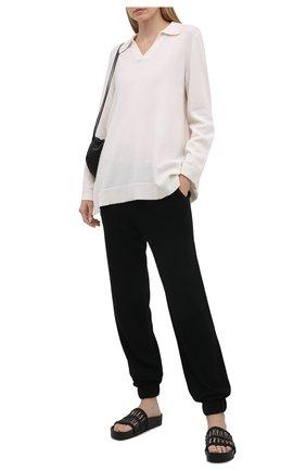 Женский кашемировый пуловер FTC белого цвета, арт. 820-0470   Фото 2