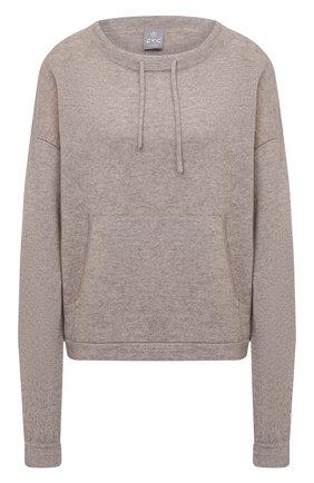 Женский кашемировый пуловер FTC коричневого цвета, арт. 830-0570   Фото 1