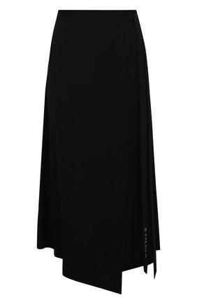 Женская юбка из вискозы 5PREVIEW черного цвета, арт. 5PW21062 | Фото 1