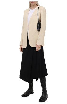 Женская юбка из вискозы 5PREVIEW черного цвета, арт. 5PW21062 | Фото 2