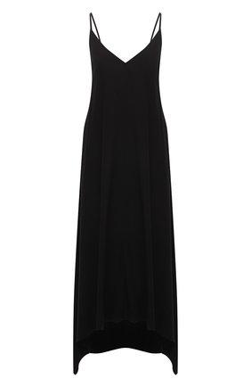 Женское платье из вискозы 5PREVIEW черного цвета, арт. 5PW21106   Фото 1