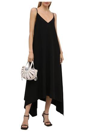 Женское платье из вискозы 5PREVIEW черного цвета, арт. 5PW21106   Фото 2
