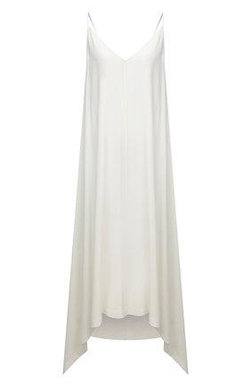 Женское платье из вискозы 5PREVIEW белого цвета, арт. 5PW21106 | Фото 1