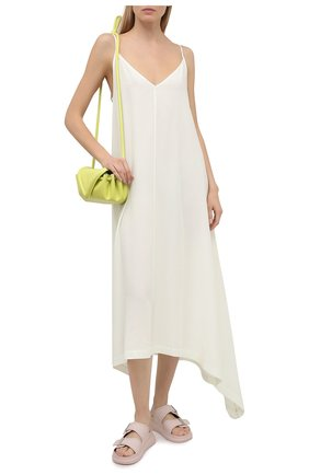 Женское платье из вискозы 5PREVIEW белого цвета, арт. 5PW21106 | Фото 2