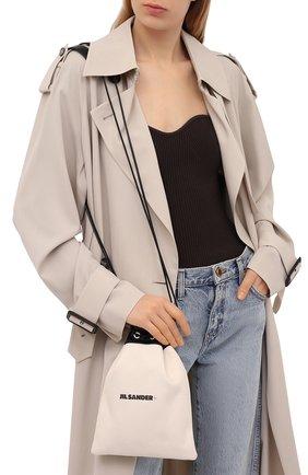 Женская сумка JIL SANDER светло-бежевого цвета, арт. JPPS852018-WSB75036N   Фото 2