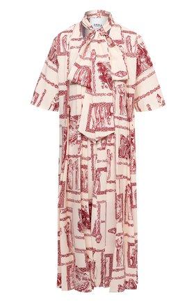 Женское платье ERIKA CAVALLINI красного цвета, арт. S1/E/E1SR01 | Фото 1