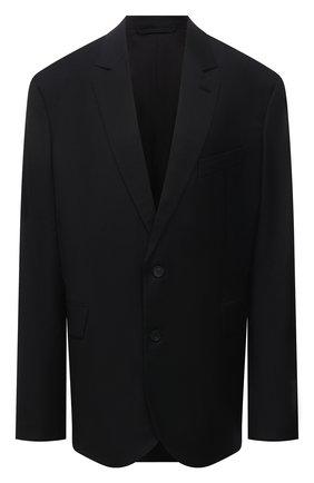 Женский шерстяной жакет BALENCIAGA черного цвета, арт. 642275/TKT08 | Фото 1