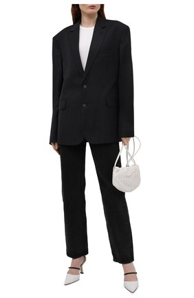 Женский шерстяной жакет BALENCIAGA черного цвета, арт. 642275/TKT08 | Фото 2