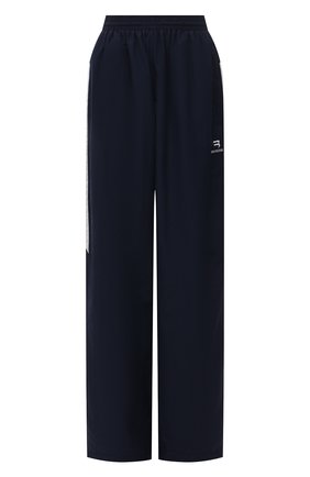 Женские брюки BALENCIAGA темно-синего цвета, арт. 659024/TK048 | Фото 1