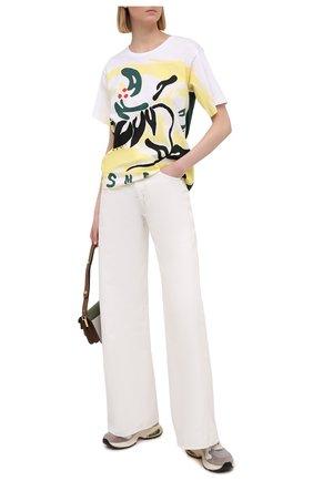 Женские джинсы KSUBI белого цвета, арт. 5000005563   Фото 2