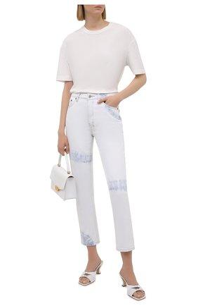 Женские джинсы KSUBI светло-голубого цвета, арт. 5000005549   Фото 2