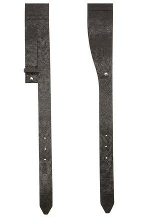 Женский кожаный пояс BRUNELLO CUCINELLI темно-коричневого цвета, арт. M0LBFC603P | Фото 2 (Кросс-КТ: Широкие)