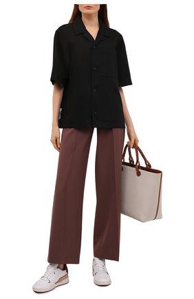 Женские кожаные кроссовки ISABEL MARANT белого цвета, арт. EMREE/BK0267-21E033S | Фото 2