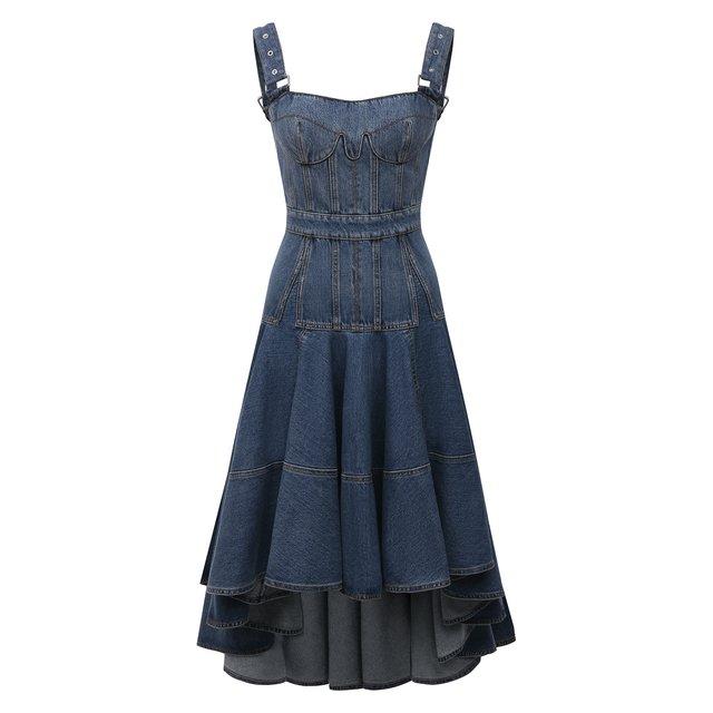 Джинсовое платье Alexander McQueen