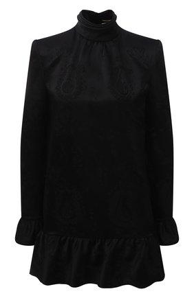 Женское платье SAINT LAURENT черного цвета, арт. 661829/Y234T | Фото 1