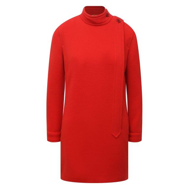 Шерстяное платье Saint Laurent