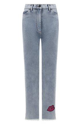 Женские джинсы NATASHA ZINKO голубого цвета, арт. SS212318-87 | Фото 1
