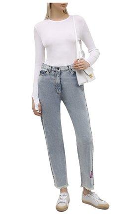 Женские джинсы NATASHA ZINKO голубого цвета, арт. SS212318-87 | Фото 2