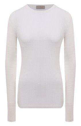 Женский хлопковый пуловер MRZ белого цвета, арт. S21-0015 | Фото 1