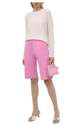 Женские шорты из вискозы MRZ розового цвета, арт. S21-0024 | Фото 2