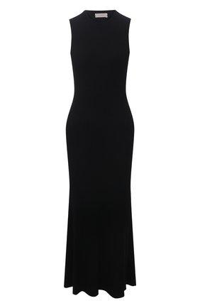 Женское платье из вискозы MRZ черного цвета, арт. S21-0140 | Фото 1