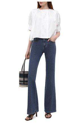 Женские джинсы CHLOÉ синего цвета, арт. CHC21UDP82151 | Фото 2