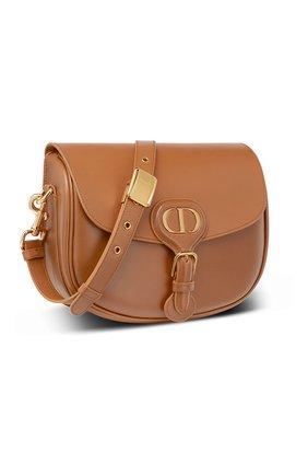 Женская сумка dior bobby medium DIOR светло-коричневого цвета, арт. M9319UMOLM44M | Фото 2 (Сумки-технические: Сумки через плечо; Материал: Натуральная кожа; Размер: medium)
