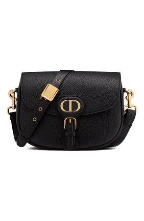 Женская сумка dior bobby medium DIOR черного цвета, арт. M9319UBBNM900 | Фото 1 (Сумки-технические: Сумки через плечо; Материал: Натуральная кожа; Размер: medium)