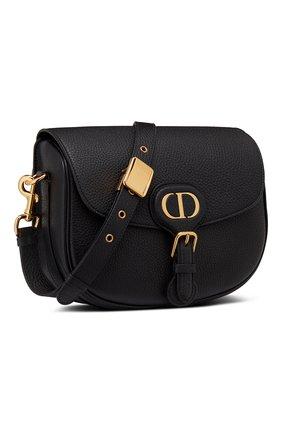 Женская сумка dior bobby medium DIOR черного цвета, арт. M9319UBBNM900 | Фото 2 (Сумки-технические: Сумки через плечо; Материал: Натуральная кожа; Размер: medium)