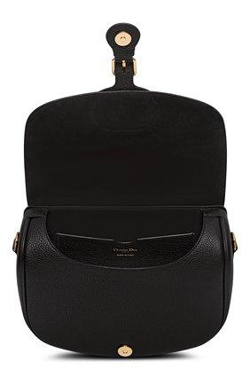 Женская сумка dior bobby large DIOR черного цвета, арт. M9320UBBYM911 | Фото 2 (Сумки-технические: Сумки через плечо; Материал: Натуральная кожа; Размер: large)