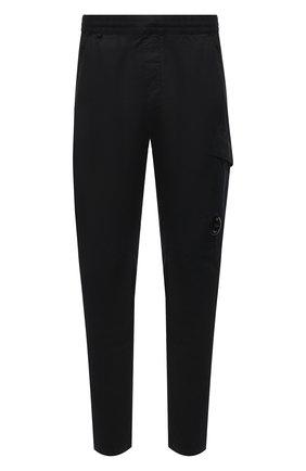 Мужские хлопковые брюки C.P. COMPANY черного цвета, арт. 10CMPA270A-0060260 | Фото 1
