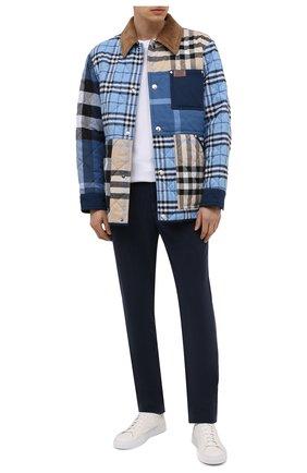 Мужские брюки PAIGE темно-синего цвета, арт. M953G42-7815 | Фото 2
