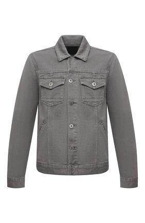 Мужская джинсовая куртка PAIGE серого цвета, арт. M772B32-3698 | Фото 1