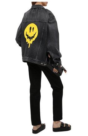 Женские кожаные сабо mallorca BALENCIAGA черного цвета, арт. 656842/WA2M6 | Фото 2