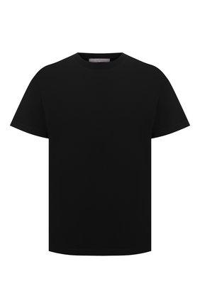 Мужская хлопковая футболка A-COLD-WALL* черного цвета, арт. ACWMTS039 | Фото 1