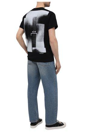Мужская хлопковая футболка A-COLD-WALL* черного цвета, арт. ACWMTS039 | Фото 2