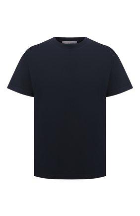 Мужская хлопковая футболка A-COLD-WALL* темно-синего цвета, арт. ACWMTS039 | Фото 1
