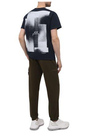 Мужская хлопковая футболка A-COLD-WALL* темно-синего цвета, арт. ACWMTS039 | Фото 2