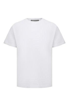 Мужская хлопковая футболка A-COLD-WALL* белого цвета, арт. ACWMTS039 | Фото 1
