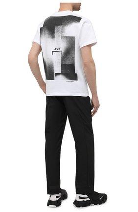 Мужская хлопковая футболка A-COLD-WALL* белого цвета, арт. ACWMTS039 | Фото 2