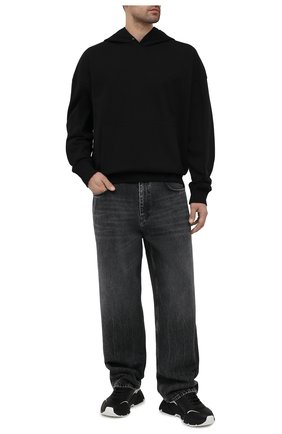 Мужской хлопковое худи A-COLD-WALL* черного цвета, арт. ACWMW030 | Фото 2