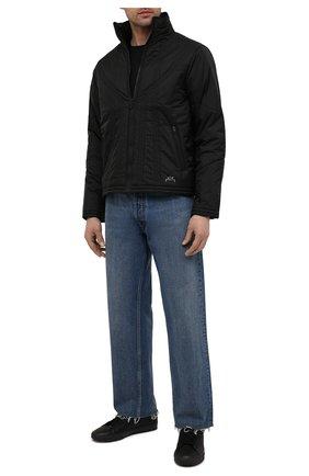 Мужская куртка A-COLD-WALL* черного цвета, арт. ACWM0026 | Фото 2