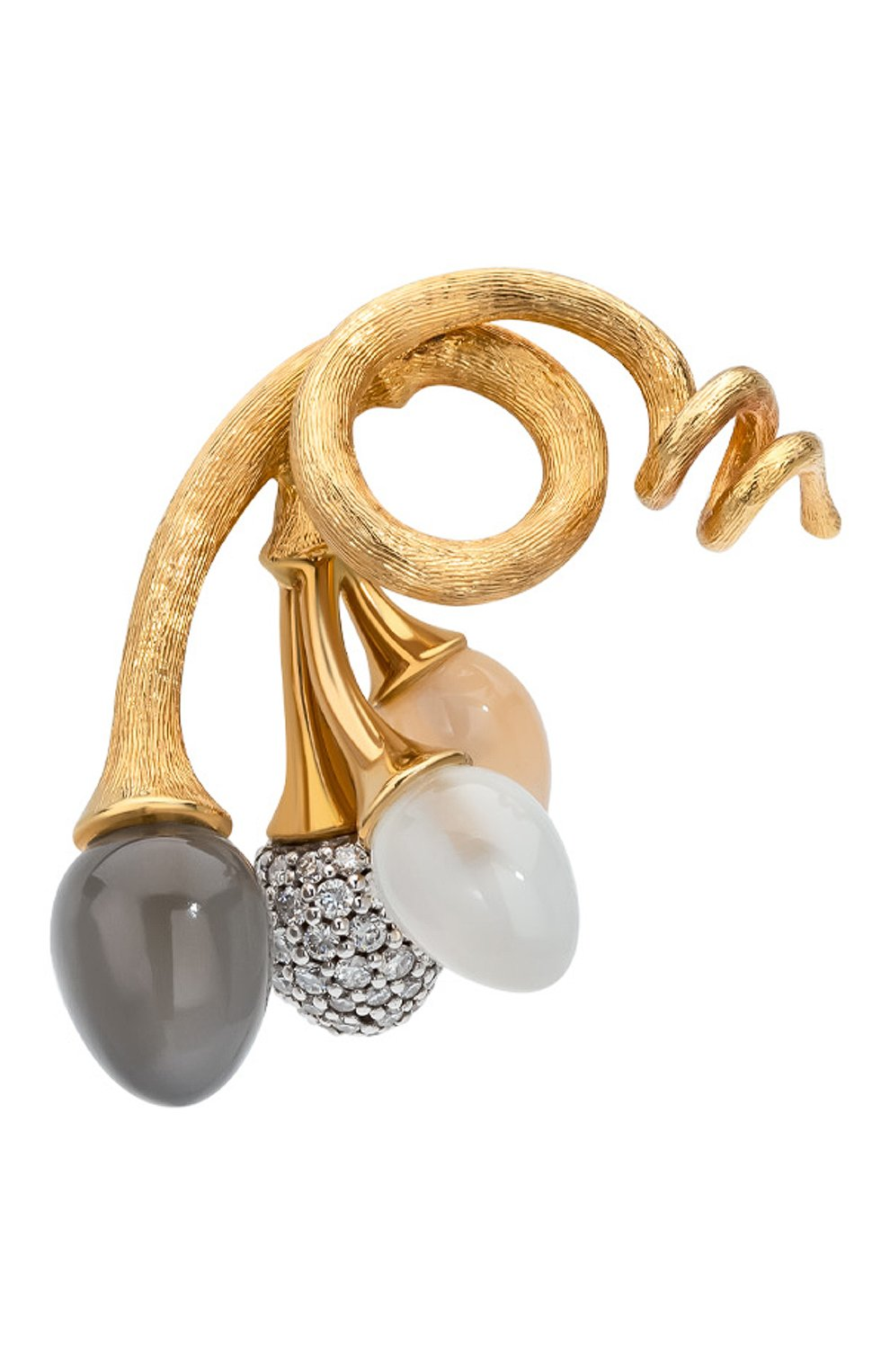 Женские подвеска OLE LYNGGAARD COPENHAGEN бесцветного цвета, арт. A2611-413   Фото 1 (Драгоценные камни: Бриллианты; Материал сплава: Желтое золото)