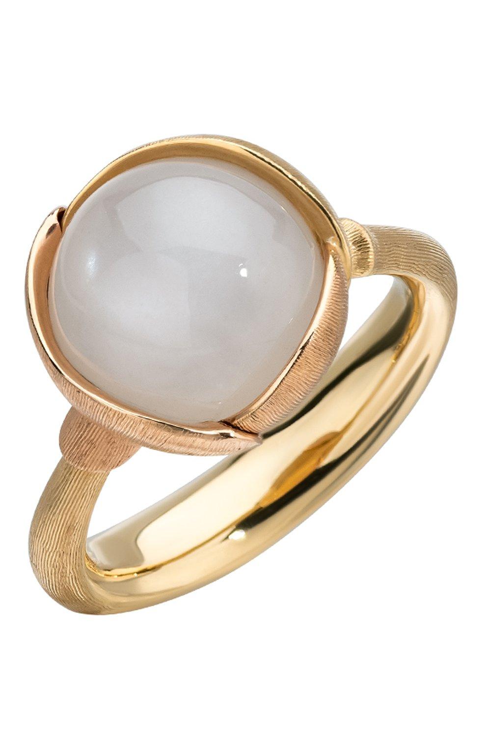 Женские кольцо OLE LYNGGAARD COPENHAGEN бесцветного цвета, арт. A2651-406   Фото 1 (Драгоценные камни: Другие; Материал сплава: Розовое золото)