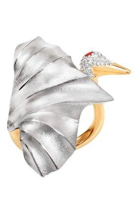 Женские кольцо OLE LYNGGAARD COPENHAGEN бесцветного цвета, арт. A3093-402 | Фото 1