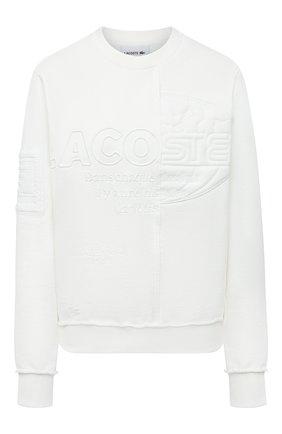 Женский свитшот LACOSTE белого цвета, арт. SH024370V   Фото 1