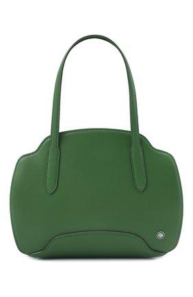 Женская сумка sesia small LORO PIANA зеленого цвета, арт. FAL6766 | Фото 1 (Размер: small; Материал: Натуральная кожа; Сумки-технические: Сумки top-handle)